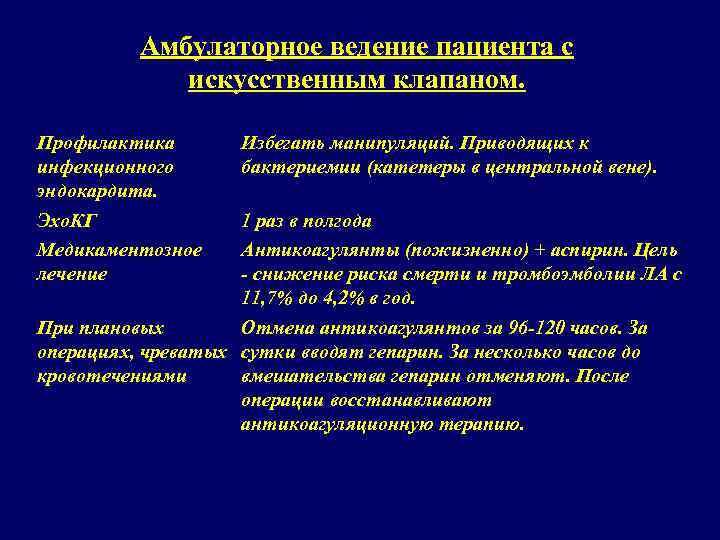 Неинфекционный эндокардит: причины, симптомы, диагностика, лечение
