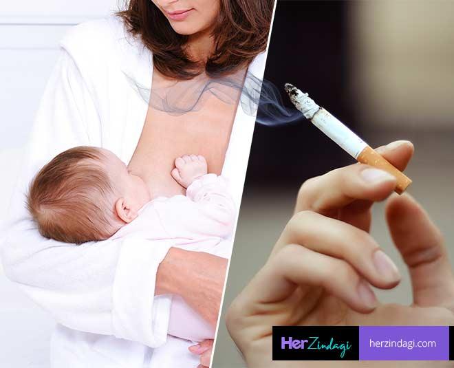 Какие могут быть последствия для ребенка, если мама не отказалась от курения при грудном вскармливании