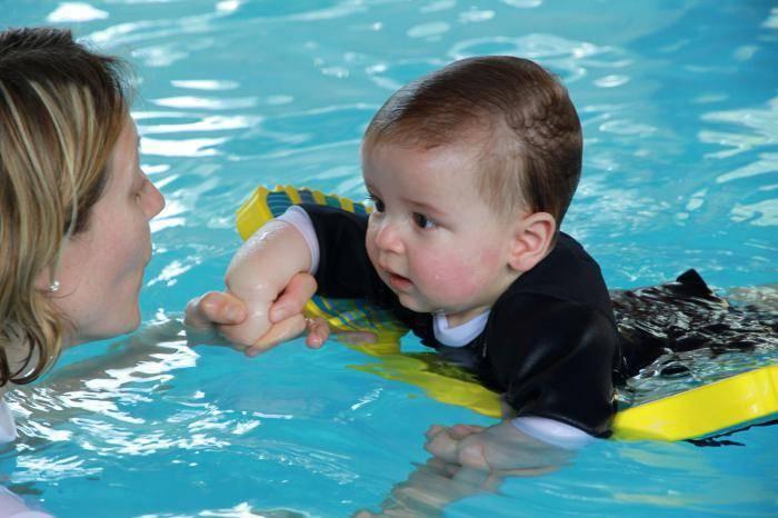 Лучшие центры грудничкового плавания в москве
