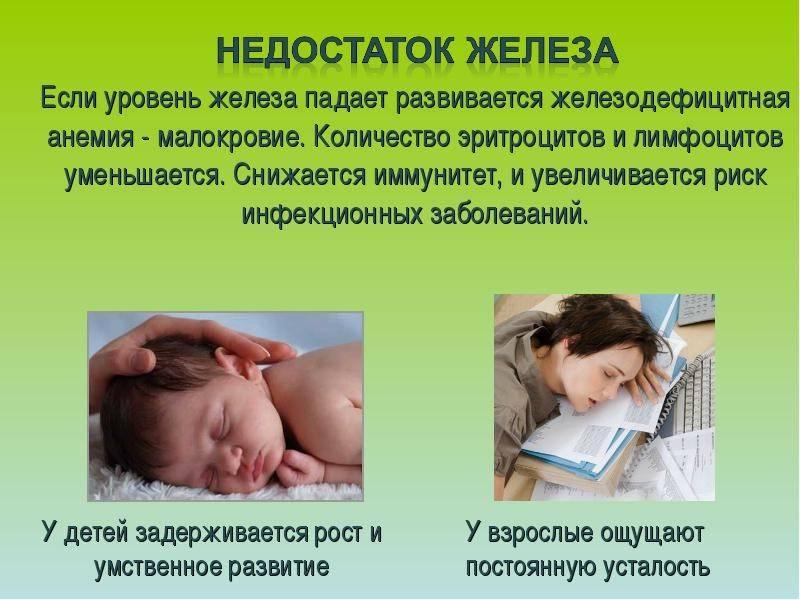 Анемия у детей. признаки и лечение