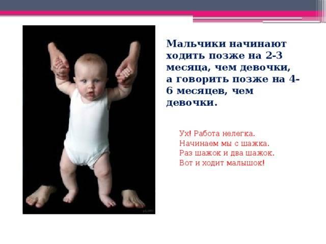 Во сколько начинают ходить дети самостоятельно, норма и отклонения, от чего зависит
