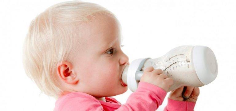 Отучение двухлетнего ребенка от бутылочки