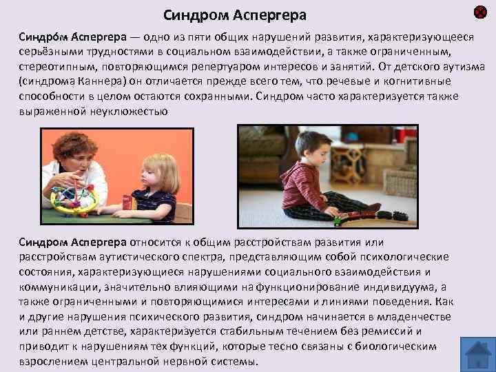 Взрослые люди с синдромом аспергера: особенности