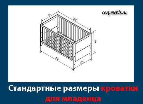 Размеры детского постельного белья в кроватку: для новорожденных и детей постарше
