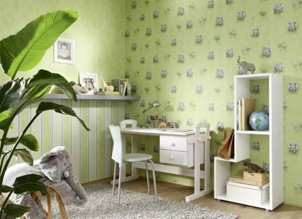 Обои для детской комнаты - 100 фото лучших дизайнерских идей