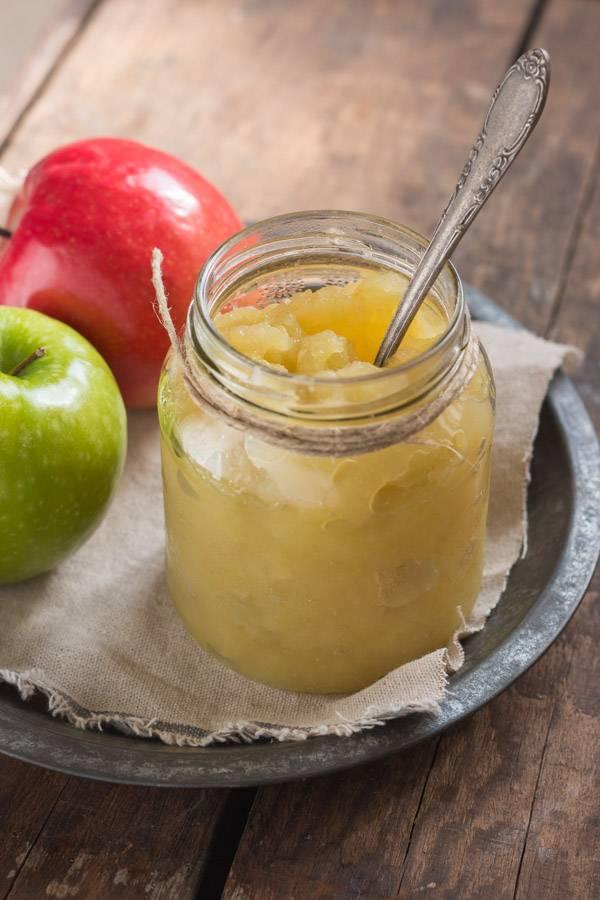 Яблочное пюре для грудничка своими руками: рецепт приготовления