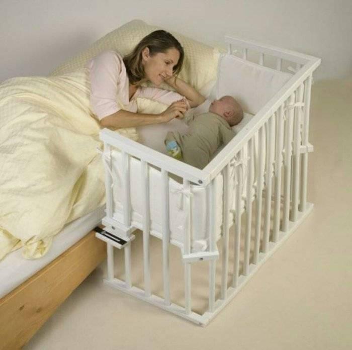 Кровати для новорожденных, их виды и советы по подбору