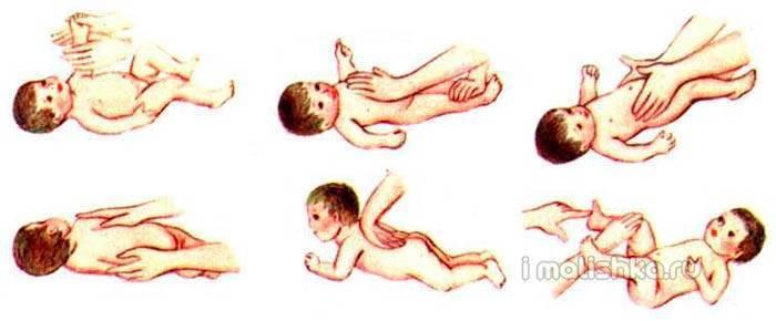 Гимнастика для новорожденных — комплекс упражнений с видео