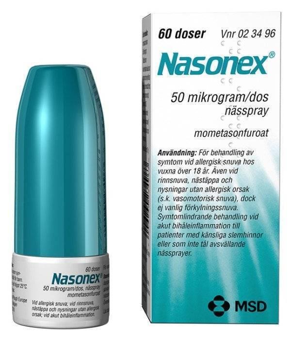 Назонекс® (nasonex®)