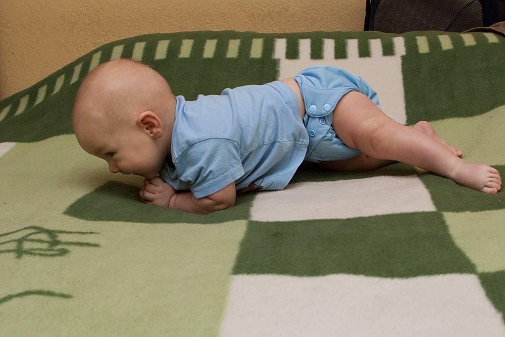 Как научить ребенка ползать в 5-6 месяцев на четвереньках: видео Комаровского