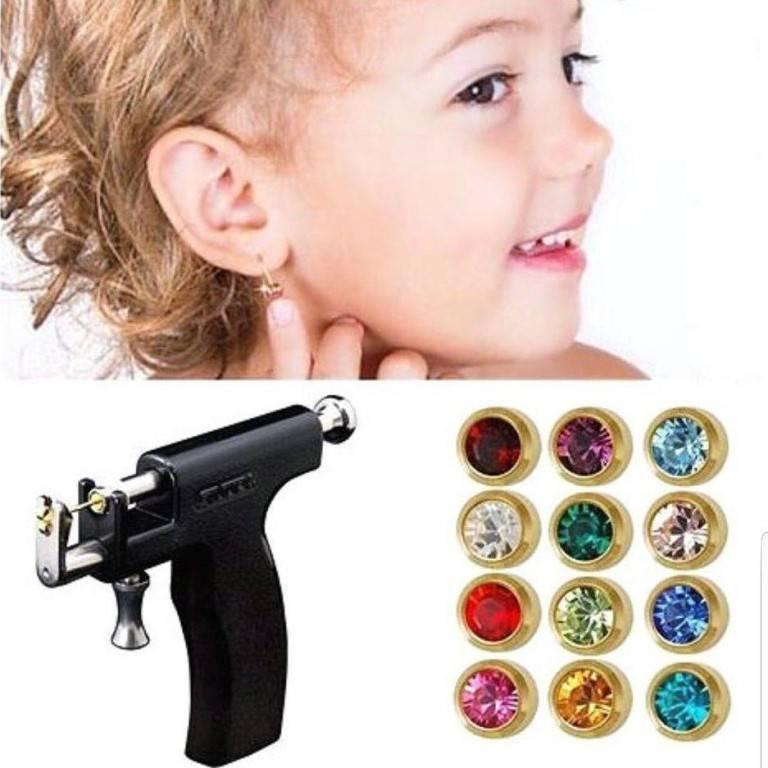 Прокалывание ушей пистолетом детям в взрослым в санкт-петербурге невский район, цена на пирсинг уха системой 75 в медицинском центре