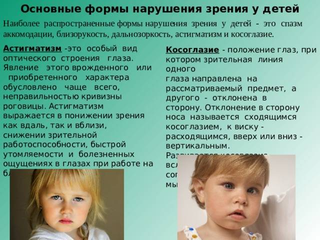 Будет ли прогрессировать врожденная близорукость у ребенка?