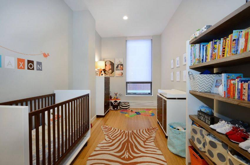 80 идей дизайна маленькой детской комнаты (фото)