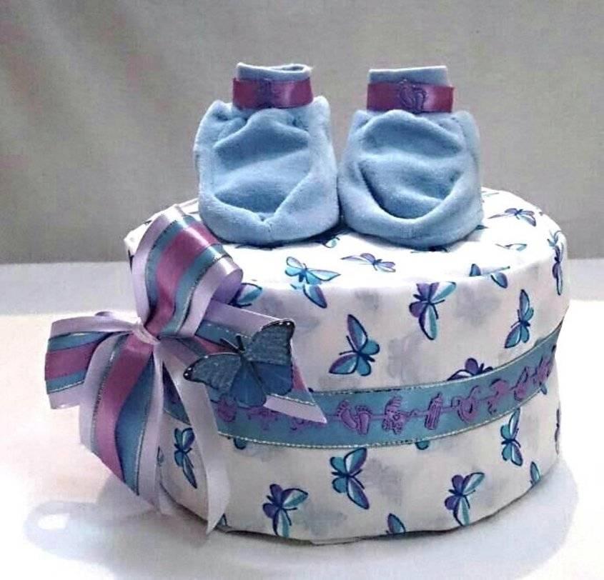 Поделки из памперсов своими руками, подаки новорожденным, идеи с фото
