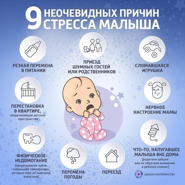 12 главных причин, почему новорожденный плохо спит