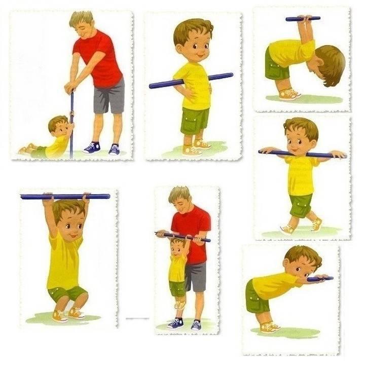 Как укрепить мышцы спины ребенка с помощью упражнений и массажа?
