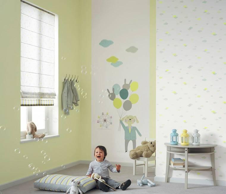 Какие обои лучше выбрать в детскую комнату: фото-идеи и обзор материалов