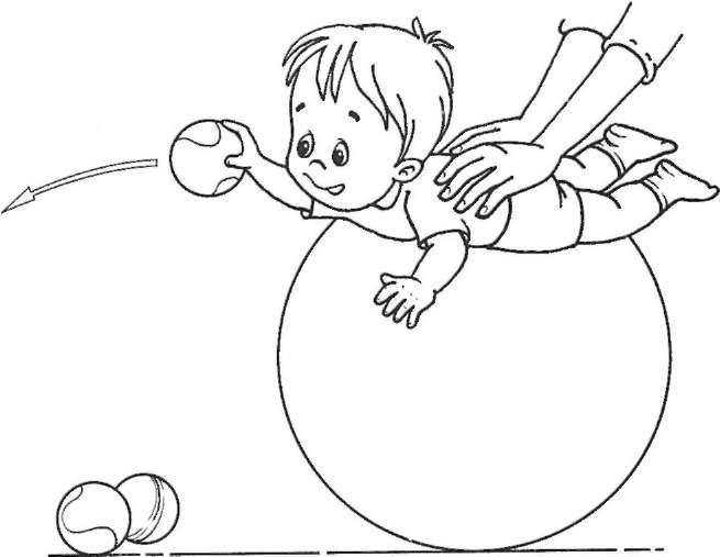 Занятия на фитболе с грудничком: упражнения и гимнастика, а также какой лучше выбрать