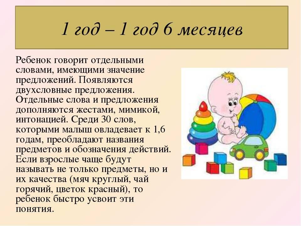 Развитие ребенка в 1 год: навыки умения помощь родителей