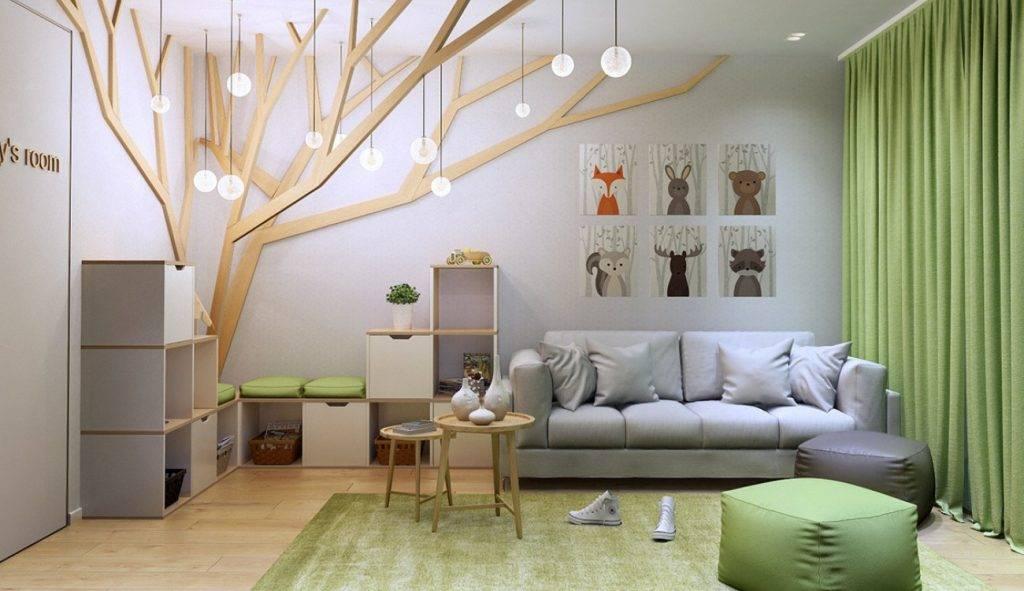 Зонирование детской комнаты - 90 фото вариантов удобного дизайна