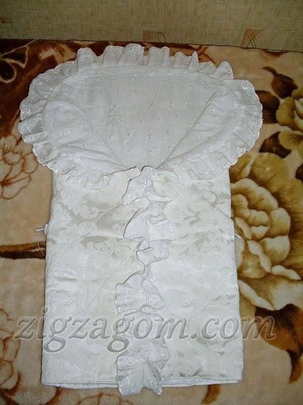 Вязание конверта для новорожденного спицами, нюансы выбора пряжи