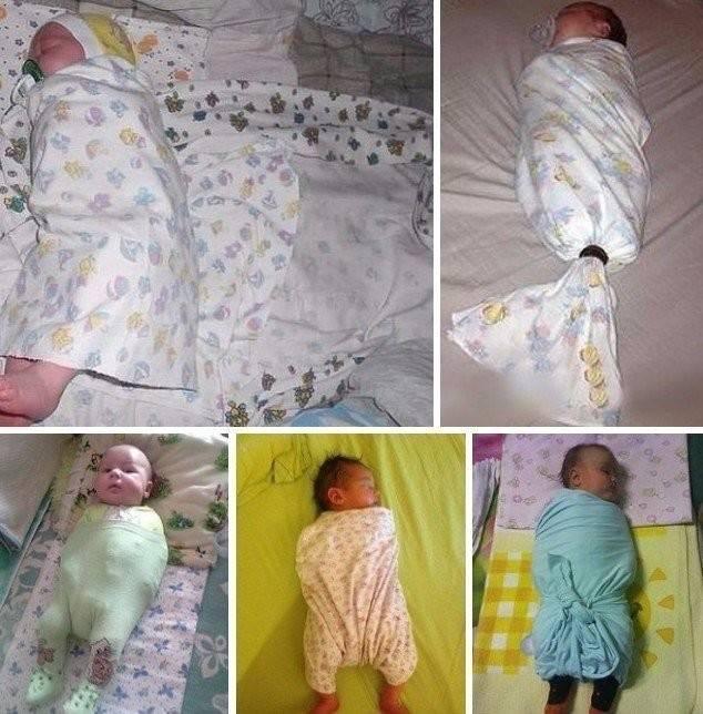 Как отучить ребенка от пеленания: как начать малышу спать без пеленок, советы и мнения врачей