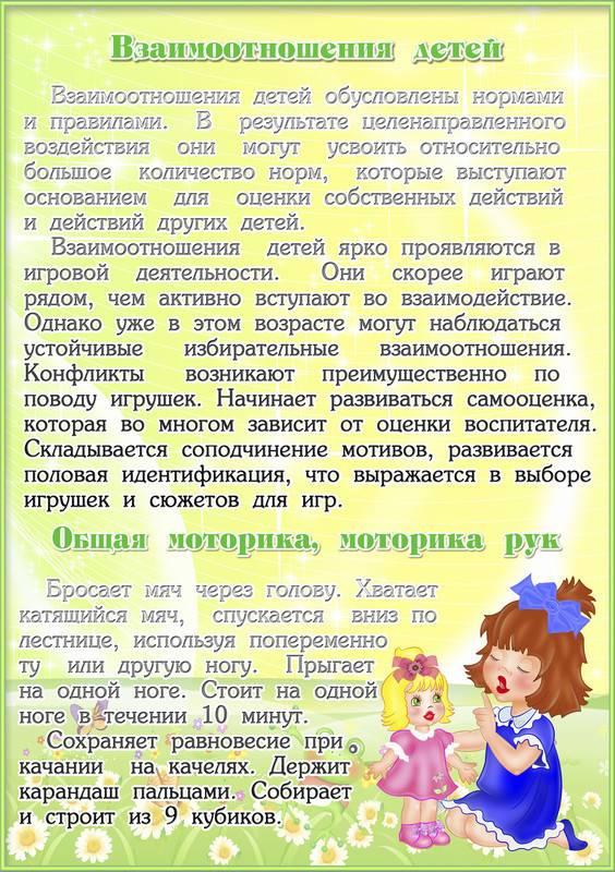 Консультация для родителей «воспитание детей 3–4 лет»