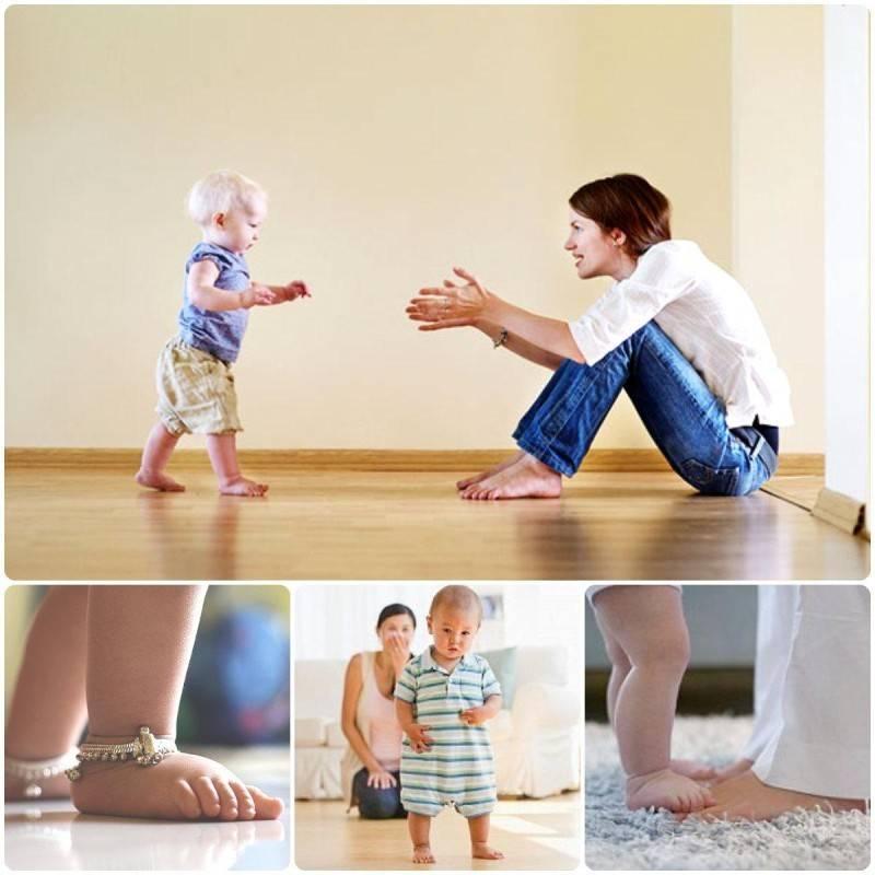 Как научить ребенка ходить самостоятельно - советы и рекомендации родителям