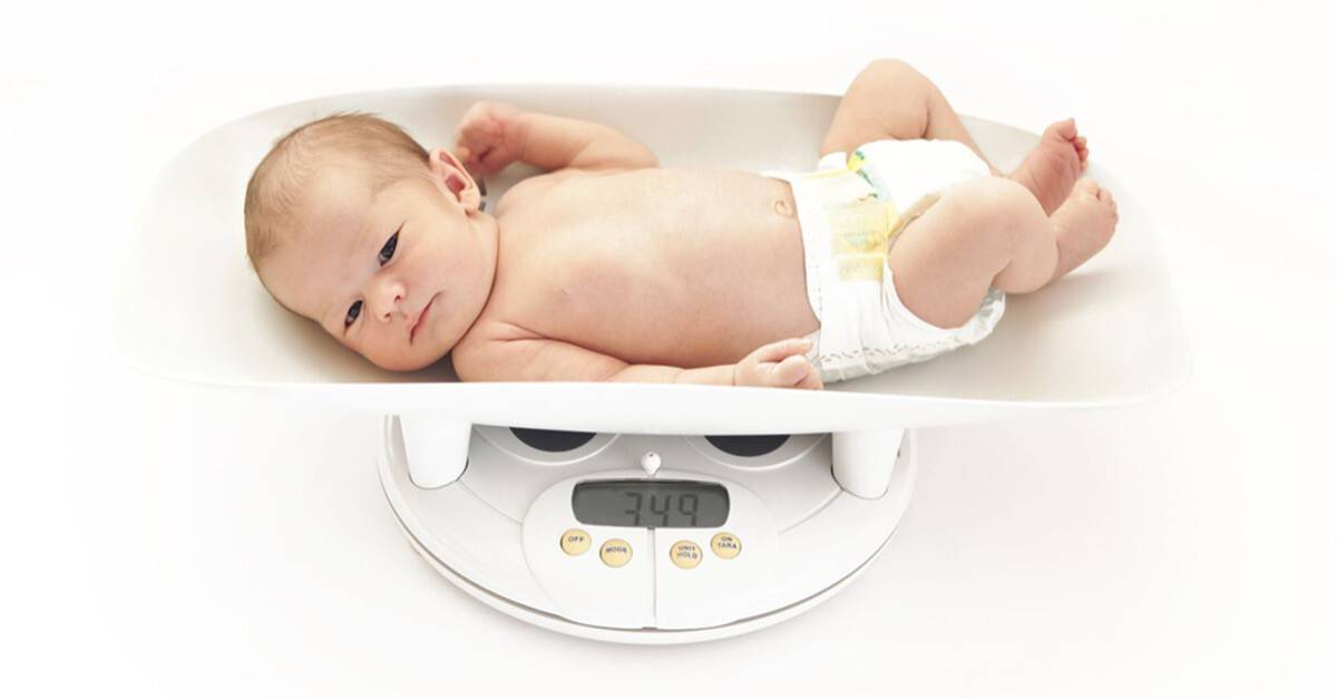 Детские смеси для набора веса