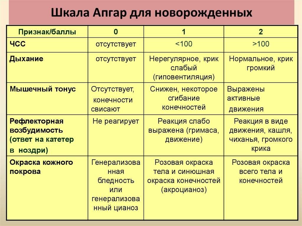 Шкала апгар - что  значит 6/9 баллов или 7/8 по апгар - роды
