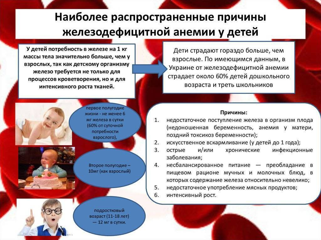Симптомы, диагностика и лечение анемии | клиника семейный доктор
