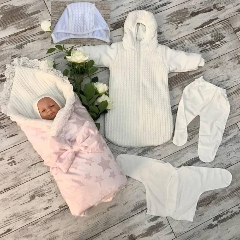 Одежда на выписку для новорожденных зимой, что должно входить