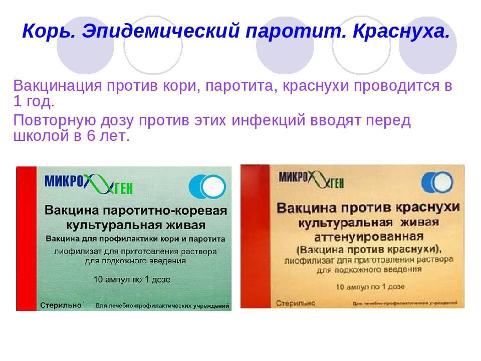 Вакцина паротитно-коревая культуральная живая (vaccinum parotitidi-morbillorum culturarum vivum)