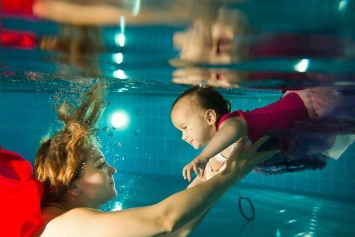 Плавание младенцев - дань моде и зло??? - болталка для мамочек малышей до двух лет - страна мам