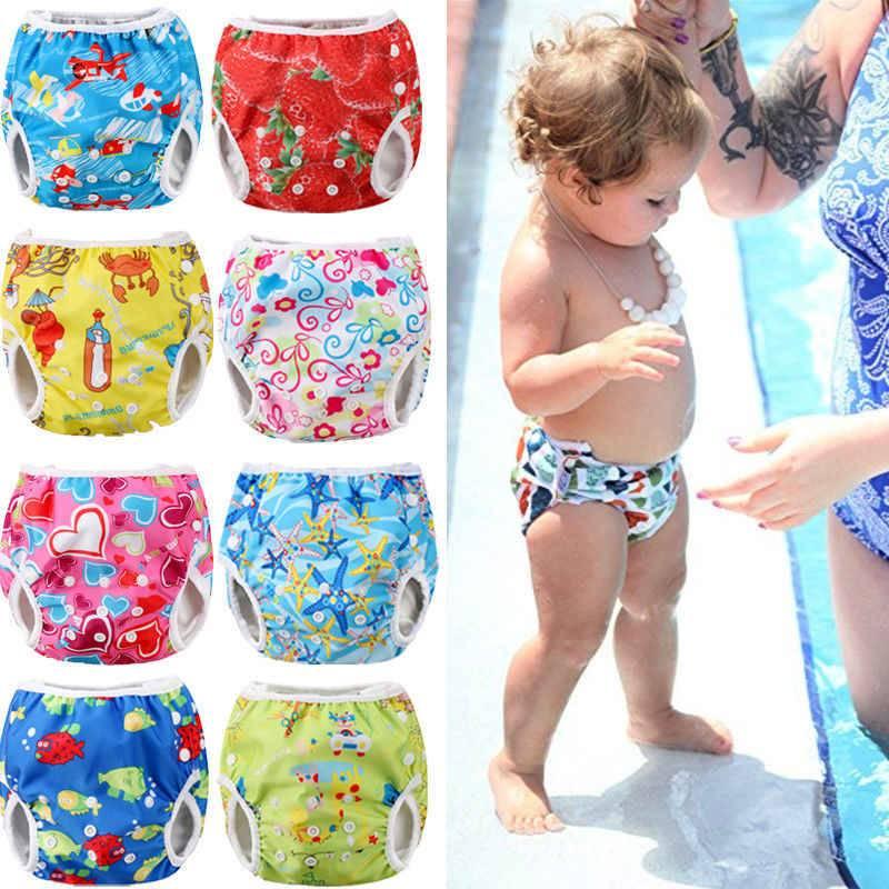 Подгузники для плавания: детские трусики и памперсы для малышей для купания и плавания в бассейне - многоразовые аквапамперсы