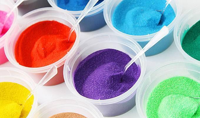 Цветной песок своими руками: пошаговый мастер-класс с поэтапными фото и видео