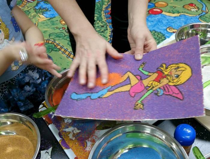 Конспект занятия «рисование песком». воспитателям детских садов, школьным учителям и педагогам - маам.ру