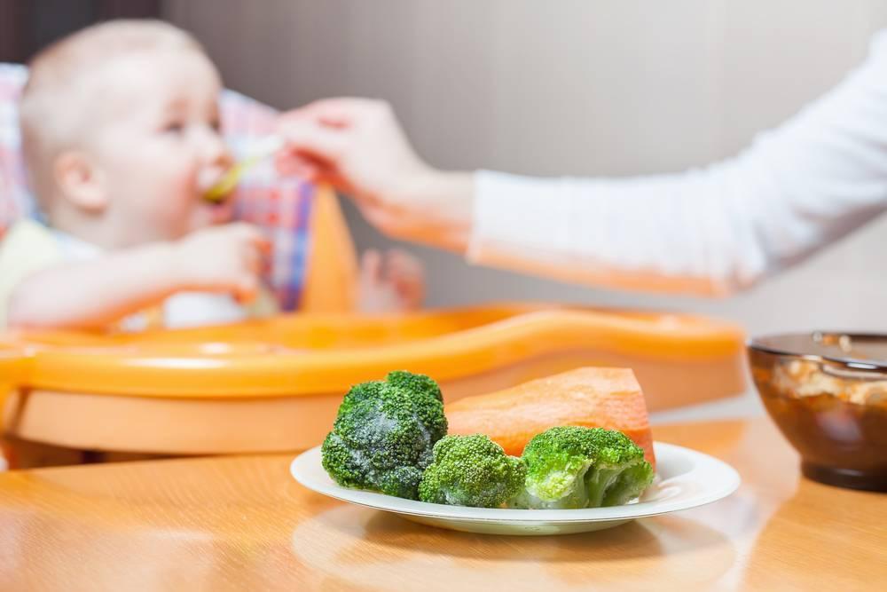 Рецепт приготовления пюре из брокколи для прикорма грудничка