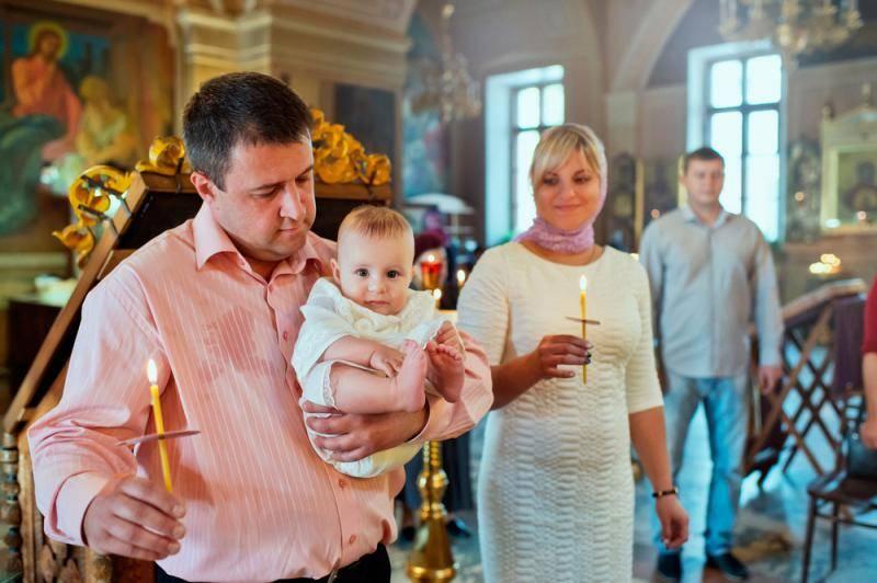 Фоторепортаж: как проходит таинство крещения?