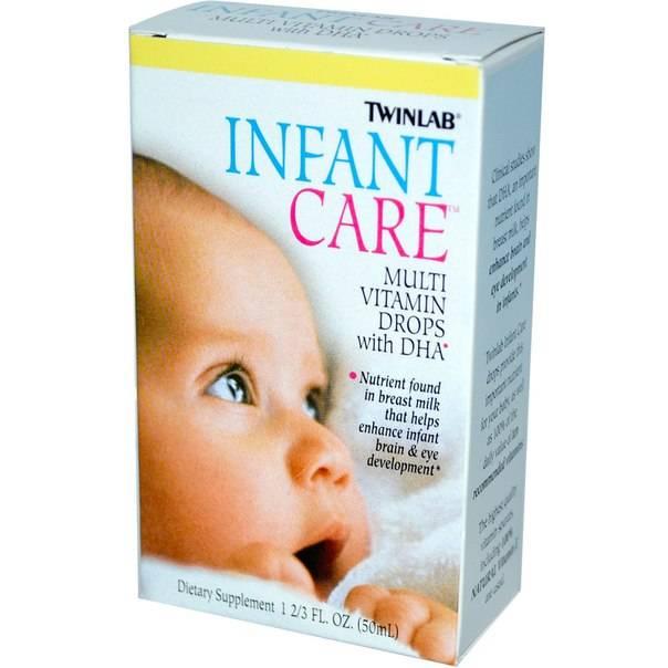 Витамины для новорожденных в каплях: какие нужно давать, как правильно принимать