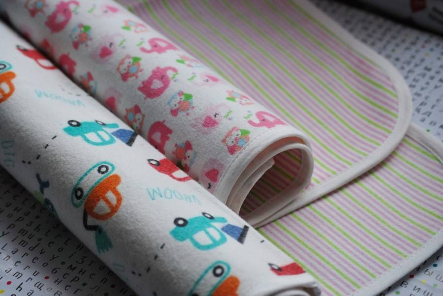 Правила выбора пеленок для новорожденных