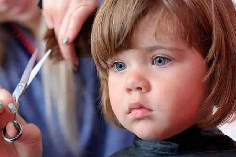 Зачем брить ребенка в год