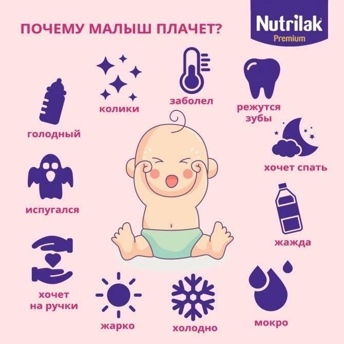 Как плачет ребенок — виды плача новорожденного малыша