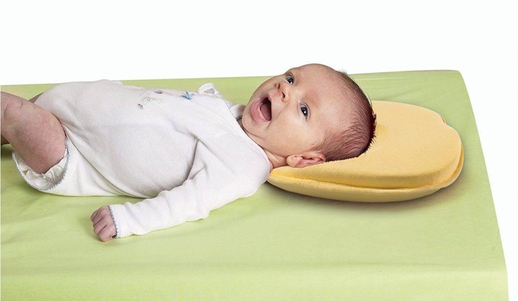 Зачем нужна и как выбрать ортопедическая подушка для грудничков?