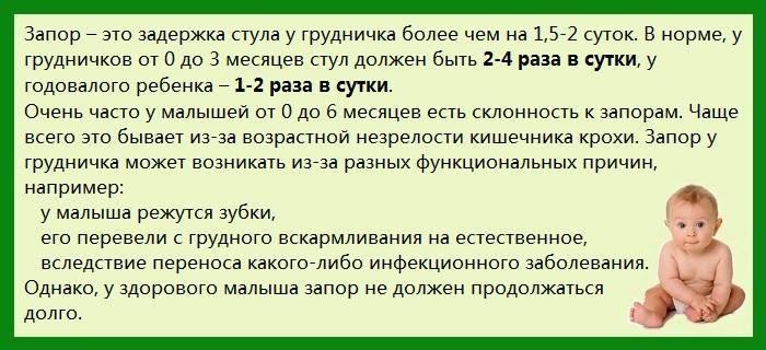 Что делать если у ребенка запор ~ факультетские клиники иркутского государственного медицинского университета