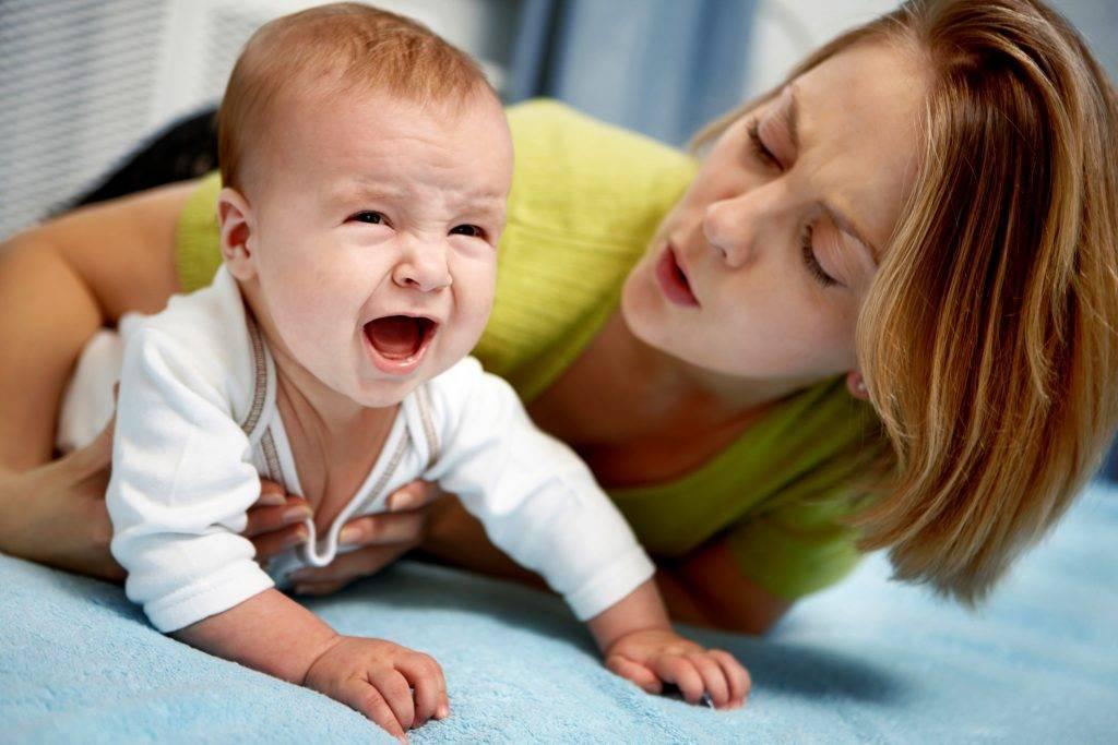 Почему капризничает ребёнок в 4 месяца?