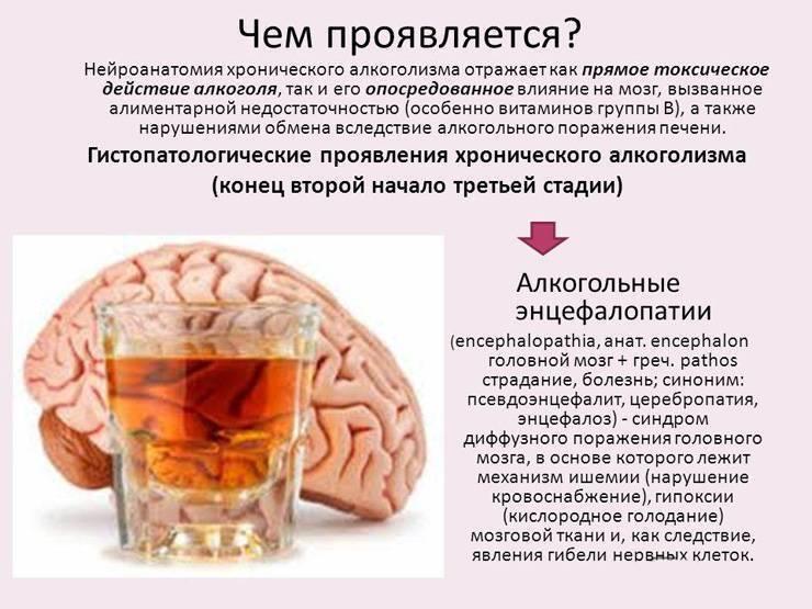 Органические поражения головного мозга – основные проявления