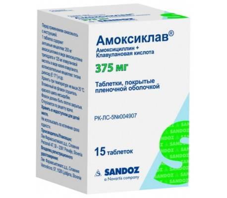 Амоксиклав суспензия 250 и 125 мг: инструкция по применению для детей, дозировка сиропа