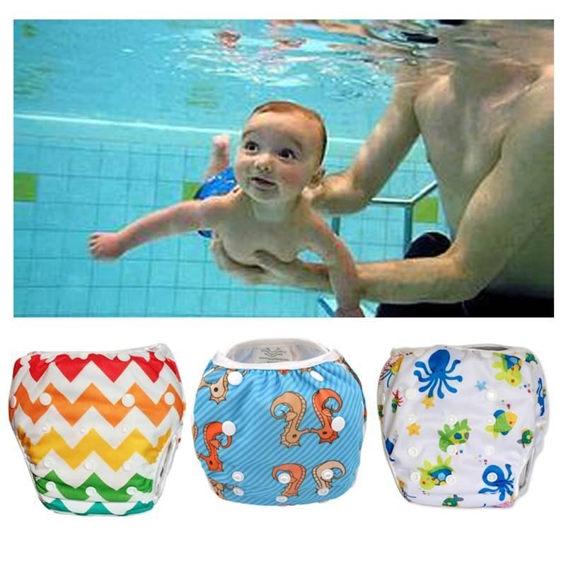 Памперсы для купания в бассейне: виды, размеры, отзывы