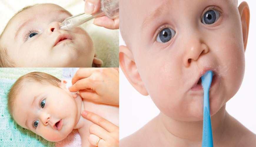 Уход за кожей новорожденного. уход за кожей лица, уход за пупочной ранкой, шелушение, подмывания ребенка и уход за областью промежности, купание и массаж :: polismed.com